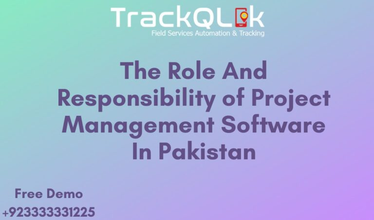 The Role And Responsibility of Project Management Software In Pakistan
