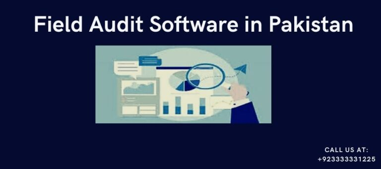 What are the 3 Benefits of Field Audit Software in Pakistan ?